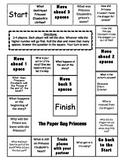 """The Paper Bag Princess"" Comprehension Game Board"
