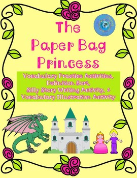 The Paper Bag Princess Fairy Tale Vocabulary Practice Activities