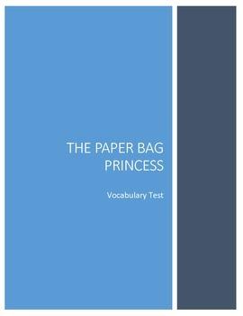 The Paper Bag Princess Vocabulary Test