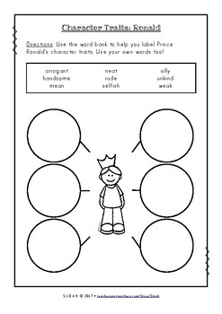 The Paper Bag Princess Worksheets by SLOAH Teachers Pay Teachers