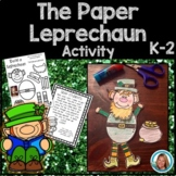 St Patrick's Day Craft - The Paper Leprechaun Poem
