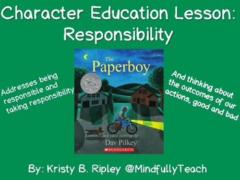 The Paperboy | Character Ed | Responsibility