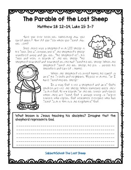 The Parable of the Lost Sheep