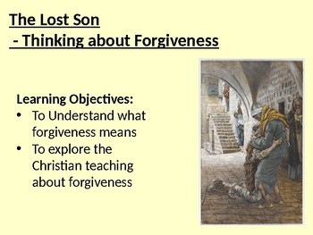 Christianity and Forgiveness - The Parable of the  Prodiga