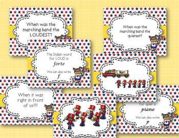 The Parade Comes A-Marching - A Lesson on DYNAMICS (Children's Literature)