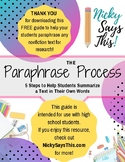 The Paraphrase Process