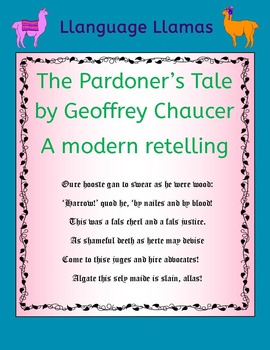 The Pardoner's Tale by Chaucer - A modern retelling to help students