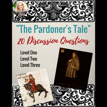 """The Pardoner's Tale"" Discussion Questions"