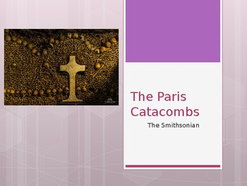 The Paris Catacombs from the Smithsonian