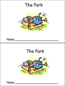 The Park Emergent Reader Preschool Kindergarten