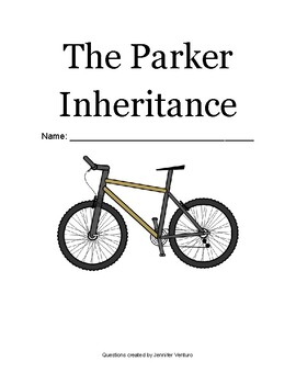 The Parker Inheritance- Chapter-by-Chapter Comprehension Questions