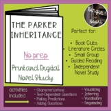 The Parker Inheritance Novel Study - Distance Learning