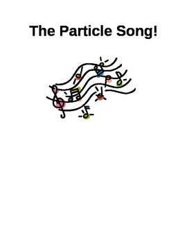 The Particle Song- Helping Kids Remember Basic Particle Theory Principles