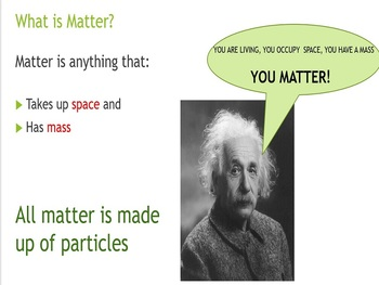 The Particulate Nature of Matter IGCSE Cambridge 2019-2021
