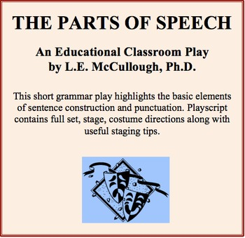 The Parts of Speech - A Syntax Play