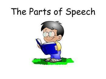 The Parts of Speech (PowerPoint)