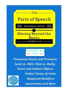 The Parts of Speech: Secondary