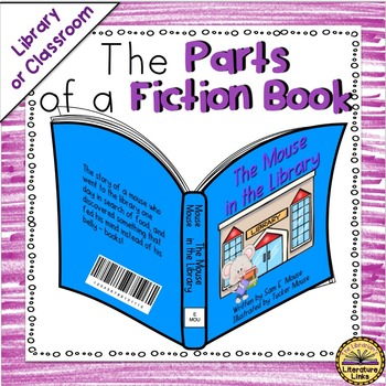 The Parts of a Fiction Book {Poster Set}