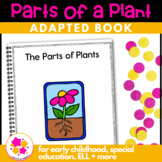 The Parts of a Plant: Adapted Book for Early Childhood Special Education