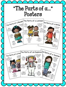 """""""The Parts of a..."""" Posters"""