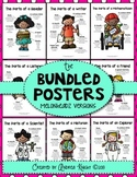 """The Parts of a..."" Posters {Melonheadz Bundled Set}"