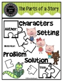 The Parts of a Story (for Kinders)