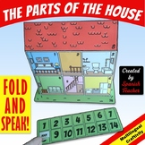 The Parts of the House - BILINGUAL CRAFTIVITY
