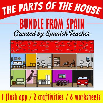 The Parts of the House - BUNDLE from Spain