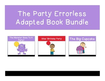 The Party Errorless Adapted Book Bundle