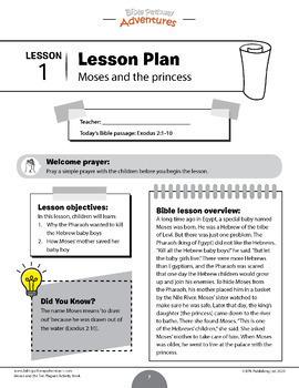 BUNDLE: The Passover Story Activity Books & Lesson Plans