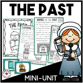 The Past: Student Booklet, Mini-Book and Sort
