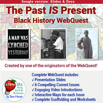 The Past IS Present - Black History WebQuest