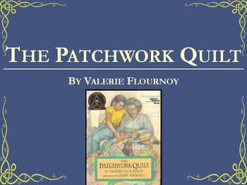 The Patchwork Quilt by Flournoy Collaborative Conversation Text Talk