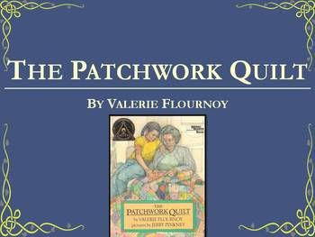 Patchwork Quilt | Collaborative Conversations | Vocabulary | Text Talk