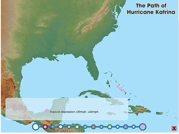 The Path of Hurricane Katrina - Explore - MAC Gr. 6-8