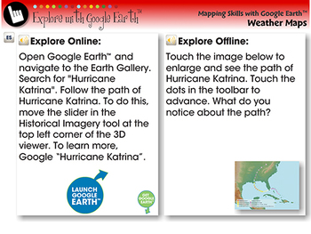 The Path of Hurricane Katrina - Explore - NOTEBOOK Gr. 6-8