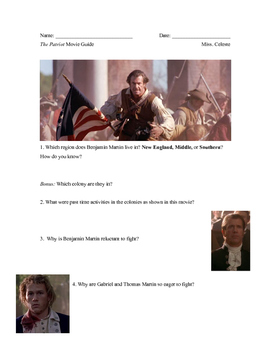 The Patriot Movie Guide