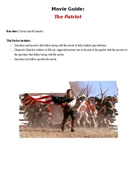 The Patriot Movie Guide