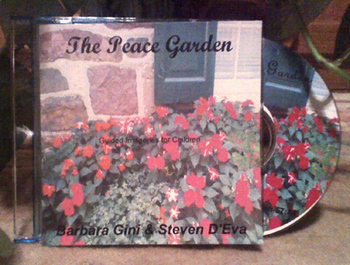 'The Peace Garden' Guided Imagery Relaxation-(Vocal Track)