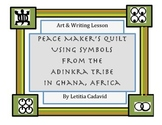 Adinkra Peace Quilt
