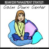 Calm-Down Center Starter Kit