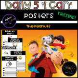 The Peanuts Themed Daily 5 I Can posters