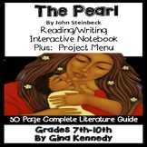 The Pearl Novel Study and Enrichment Project Menu