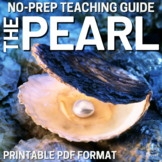 The Pearl by John Steinbeck - Activities, Lessons PACKET | DISTANCE LEARNING