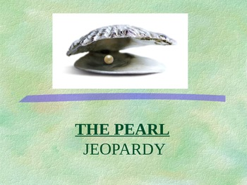 The Pearl Jeopardy