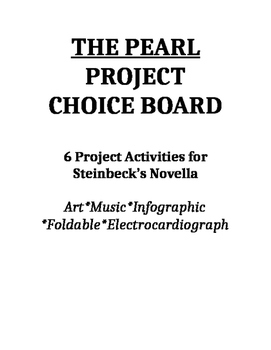 The Pearl Project Choice Board