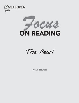 The Pearl Study Guide: Focus on Reading