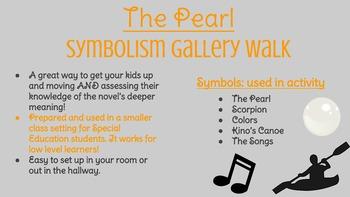 The Pearl Symbolism Gallery Walk w/ Written Response