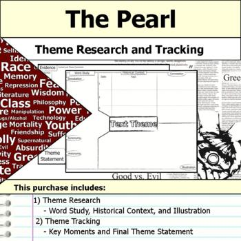 The Pearl - Theme Tracking Notes Etymology & Context Research