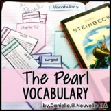 The Pearl Vocabulary Activities and Assessment - Worksheet
